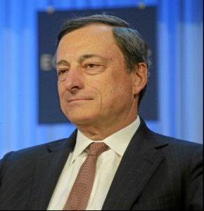 EZB-Chef Mario Draghi (Wikipedia by RSteineger)